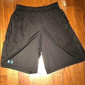 Under Armour athletic shorts large 9 inch inseam.